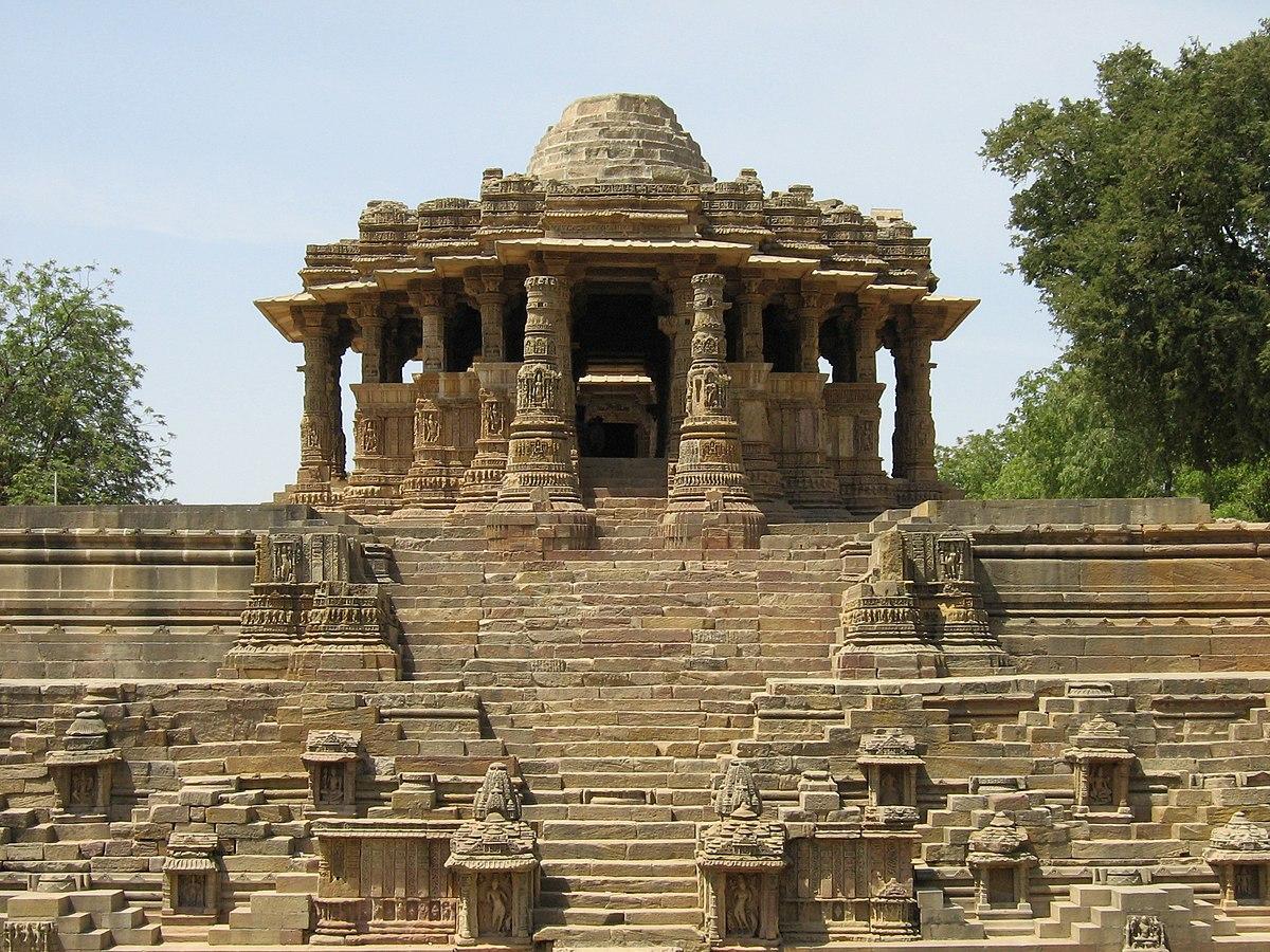 Image result for मोढ़ेरा का सूर्य मंदिर