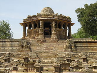 Karna (Chaulukya dynasty) - Image: Modhera Sun Temple