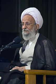 Mohammad-Taqi Mesbah-Yazdi Member of Irans Assembly of Experts