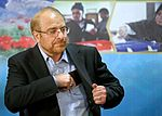 Mohammad Bagher Ghalibaf registering at the 2017 Iranian presidential election 05.jpg