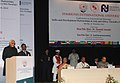 Mohd. Hamid Ansari addressing the International Relations Conference on 'India and Development Partnerships in Asia and Africa Towards A New Paradigm', in Pune. The Governor of Maharashtra.jpg