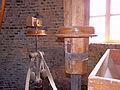 Molen De Hoop, Zierikzee maalkoppel regulateur aandrijving via steenspil.jpg
