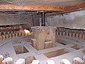 Molen Holten's Molen koningsspil 2e tap, aandrijving door spoorwiel van olieslagerij, zagerij.jpg