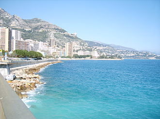 Larvotto - Coastline