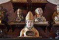 Monestir de la Trinitat de València, busts reliquiaris.JPG
