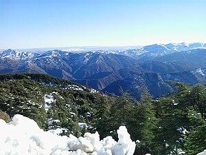 Chréa National Park - Image: Montagne de Chréa,