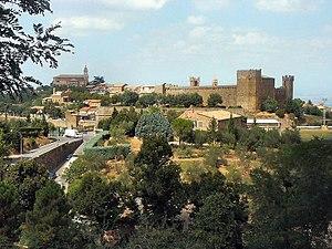 Montalcino - View of Montalcino.