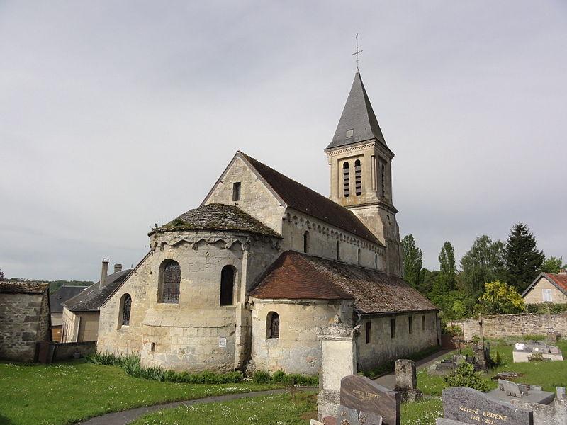 Montchâlons (Aisne) église Saint-Pierre