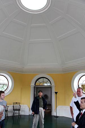 Monticello - Under the dome