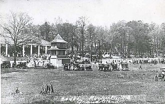 Montgomery County, Maryland - The Montgomery County Fair in 1917