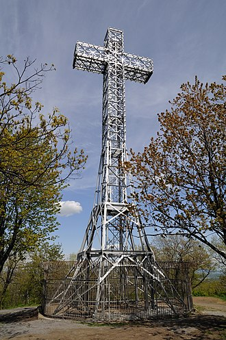 Mount Royal - Cross on top of Mount Royal, daytime.