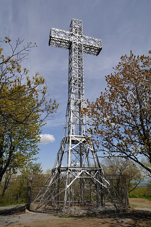 The Mount Royal Cross in Montreal, Canada. Photo by Taxiarchos228.