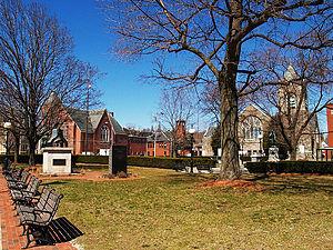 Monument Square Historic District (Leominster, Massachusetts) - Image: Monument Square Leominster