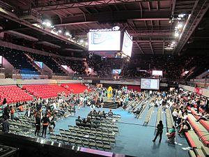 Moody Coliseum - SMU's Moody Coliseum Interior, 2016