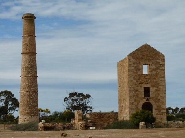 Moonta historic copper mines 2