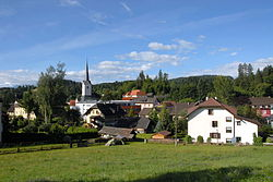 Skyline of Moosburg