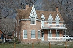 National Register of Historic Places listings in Piute County, Utah - Image: Morrill House Junction Utah