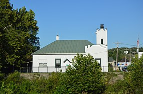 Morrow village hall from across the Todd Fork.jpg