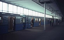 What is remarkable is the metro station Proletarskaya