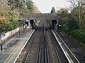 Mottingham station high eastbound.JPG