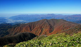 Mount Hoonji from Mount Kyo 2010-11-07.jpg