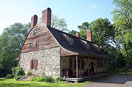 The Verplanck House (present-day Mount Gulian), Fishkill, New York, Steuben's head-quarters, where the Society was instituted May 13, 1783.