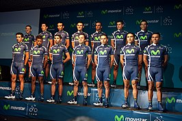 0396626b9 Movistar Team (continentale wielerploeg) - Wikipedia