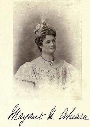 Thomas Ahearn - Mrs. Margaret Ahearn by William James Topley c. 1900