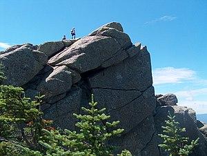 Mount Liberty (New Hampshire) - Summit of Mount Liberty