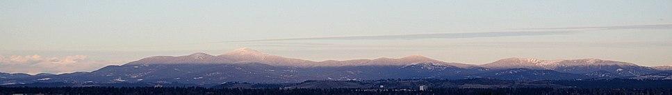 Mt Spokane ridgeline 20070106