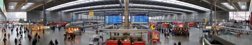 Munich Central Station Panorama
