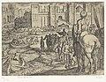 Muren van Babylon Septem orbis admiranda (serietitel) De zeven wereldwonderen (serietitel), RP-P-H-OB-44.046.jpg