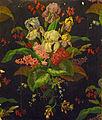 Musée de l'impression sur étoffes-Bouquet sur fond noir.jpg