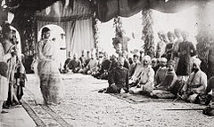 Mushaira by courtesans in Hyderabad, India.jpg