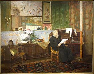 Eleanor Norcross - My Studio, 1891, oil on canvas, Fitchburg Art Museum, Massachusetts