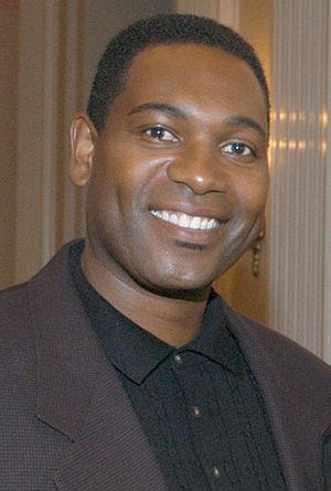 Mykelti Williamson - Williamson at the Astoria Hotel in May 2003