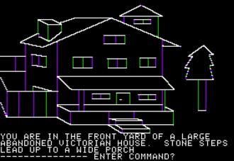 Sierra Entertainment - Image: Mystery House Apple II render emulation 2