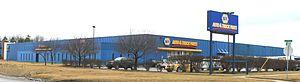 National Automotive Parts Association - NAPA Detroit Distribution Center, Romulus, Michigan
