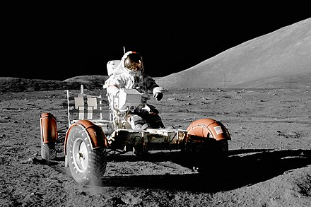 Apollo 17: Lunar Roving Vehicle-003, 1972 NASA Apollo 17 Lunar Roving Vehicle-crop.jpg
