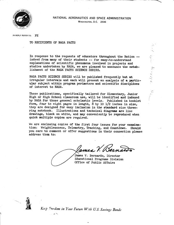 File:NASA FACTS Cover Letter James V Bernardo
