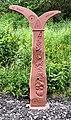 NCN Millennium Milepost MP1158 Gee Cross Tameside.jpeg