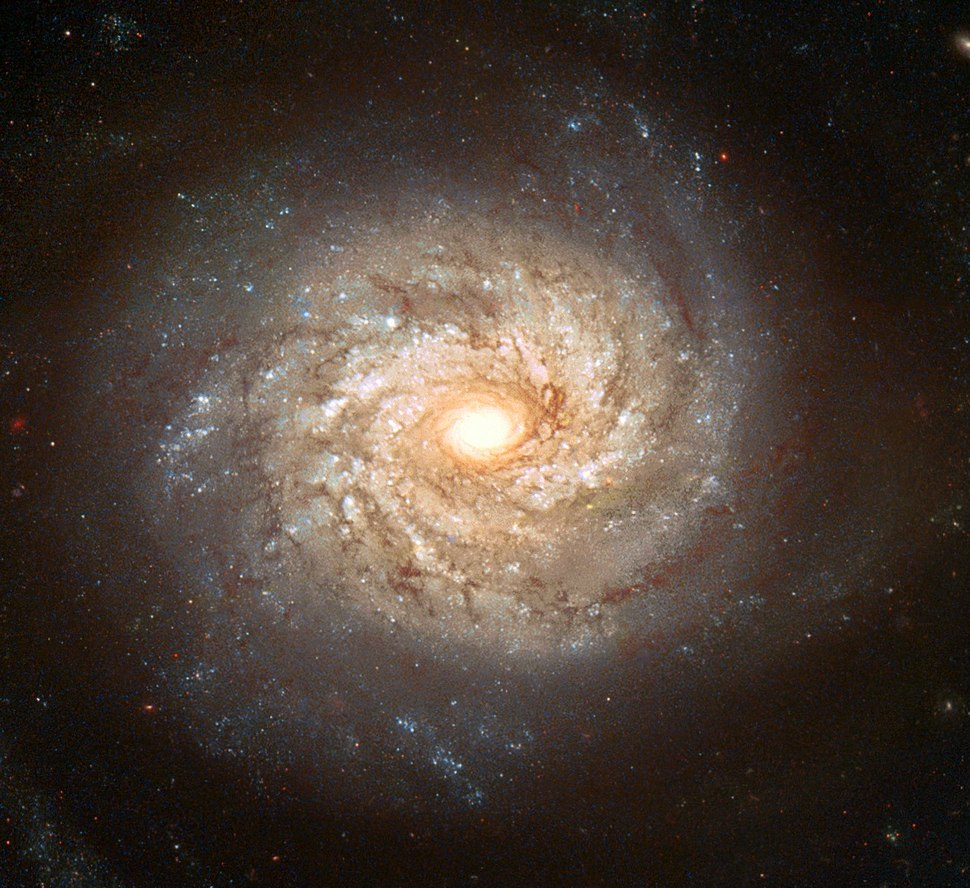NGC 3982 - Hubble space telescope, 2003