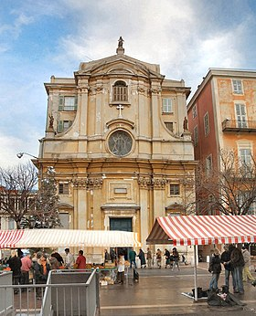 la chapelle de la. Interesting Chapelle La Faade Sur Le Cours Saleya In Chapelle De L