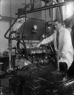 Norwegian University of Science and Technology - NTH Engineering student in 1933