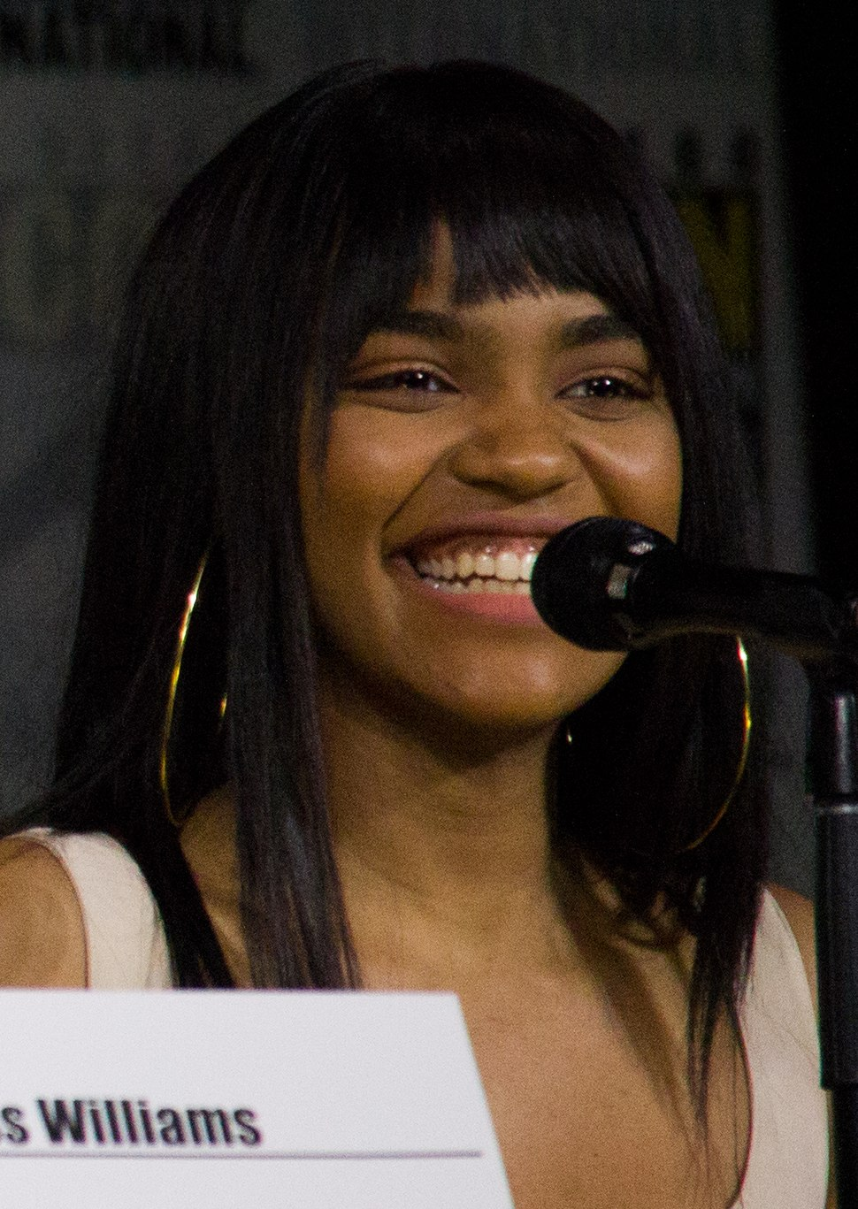 Nafessa Williams, Cress Williams %26 China Anne McClain (36403227702) (cropped)
