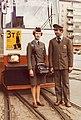 Nainen yllään rahastajan asu ja mies yllään raitiovaunukuljettajan asu - G633105 - hkm.HKMS000005-km0000oltx.jpg