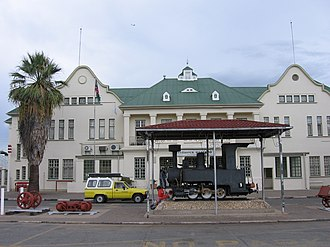 South West African Zwillinge - Image: Namibia Railway station in Windhoek