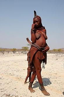 Giovane ragazza Himba