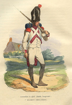 Imperial Guard (Napoleon I) - Grenadier of the 3e Régiment de Grenadiers-à-Pied de la Garde Imperiale