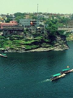 Ujjain Metropolitan City in Madhya Pradesh, India